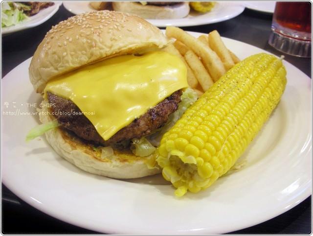 【北市內湖區】the chips~多汁漢堡美味啾西