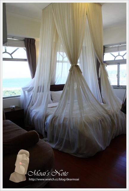 【綠島旅遊】綠島峇里會館~第一次睡到公主的床耶((旋轉))