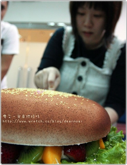 【BIRTHDAY】是漢堡還是蛋糕~米哥烘焙坊