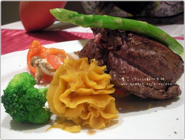 【北市士林區】超美味菲力~Toros鮮切牛排