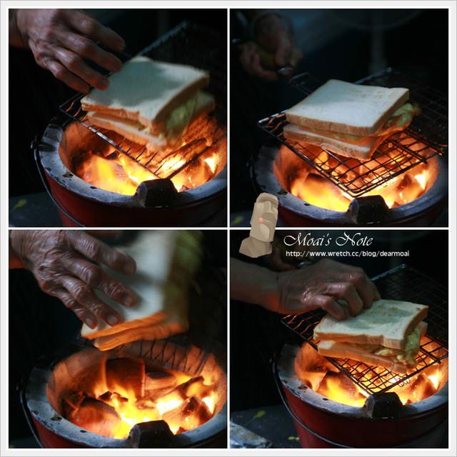 【台南大暴走】阿嬤武廟碳烤三明治~排隊60分鐘,吃完只要3分鐘