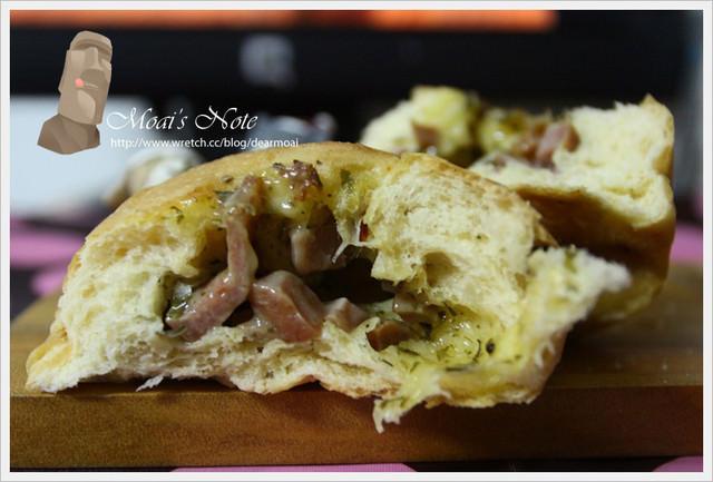 【試吃】克朗奇‧回魂麵包~德國羅浮起司堡飽嘴夠味好吃