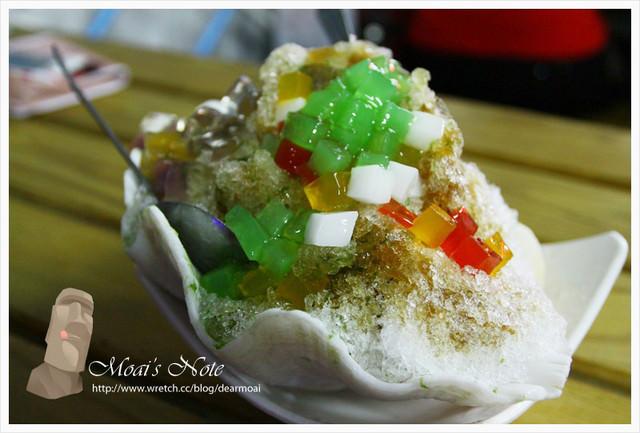 【綠島旅遊】小叮噹黑糖海草冰~黑糖糖水香濃有味